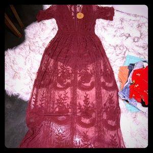 Lace Romper Dress